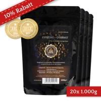 20 Kilo Karton Espresso Gourmet